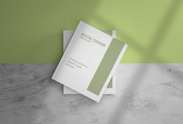 Cover book mockup premium psd