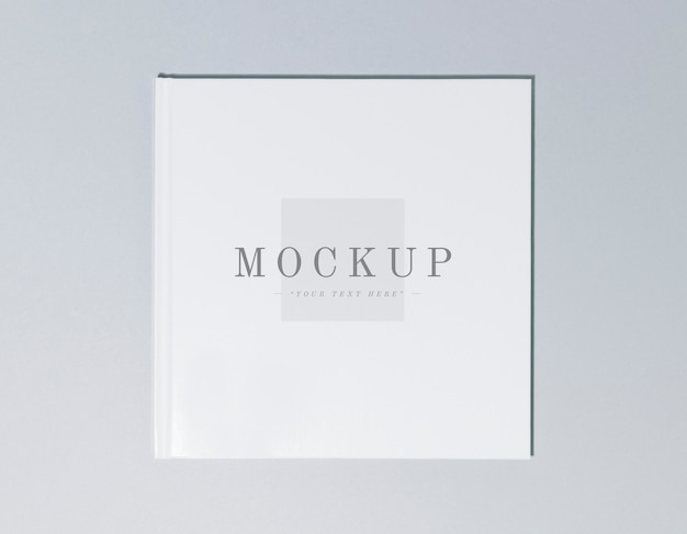 Cover of a book mockup