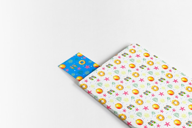 Cover and bookmark mockup