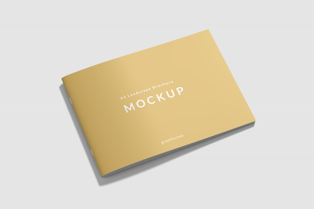 Cover landscape book mockup
