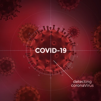 Covid-19 background. coronavirus concept. infectious disease prevention.
