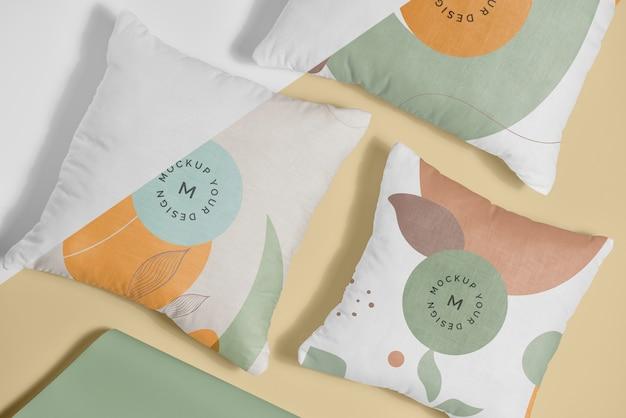 Mock-up in tessuto morbido cuscino