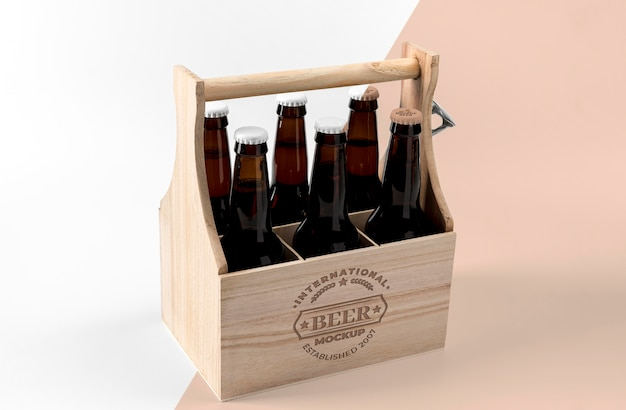 Craft beer concept mock-up