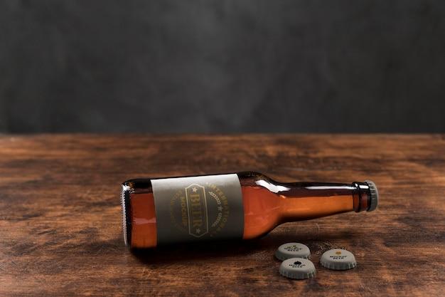 Макет концепции крафтового пива