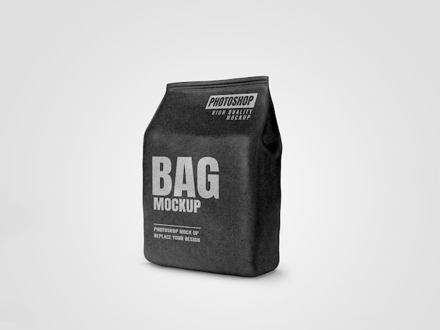 Craft food pouch mockup