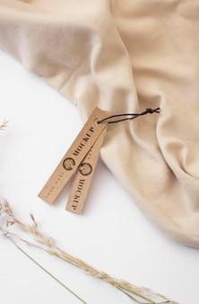 Ремесленная вешалка для одежды, макет