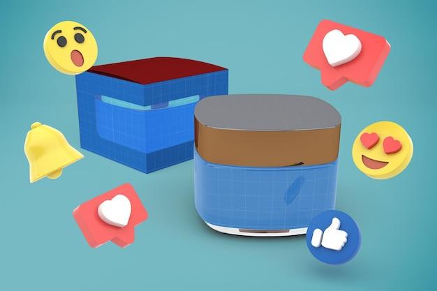 Cream social media