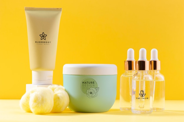 Creams and serums containers