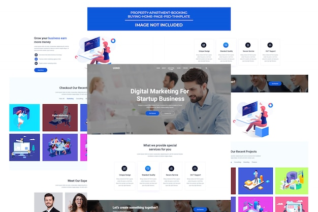 Creative agency & business  template