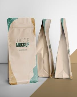 Doypack 모형의 창의적인 배치