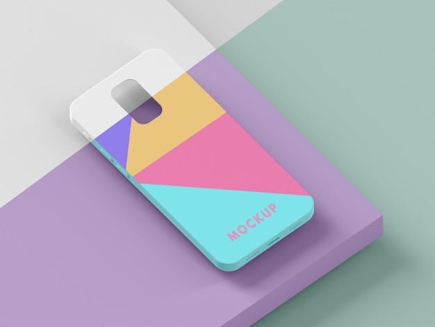 Creative assortment of phone case mock-up