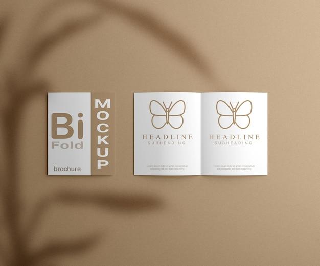 Креативный двойной макет брошюры