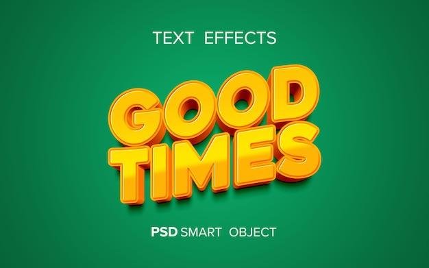Creative bold text effect