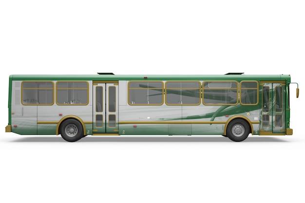 창의적인 버스 모형