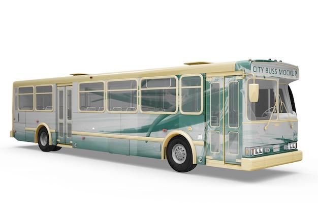 Creative bus mockup