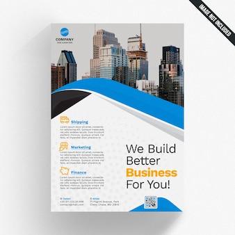 Creative business brochure cover mockup