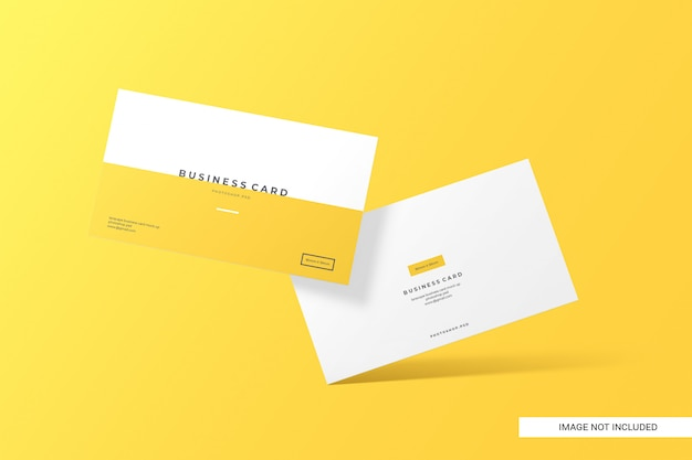 Creative business card mockup