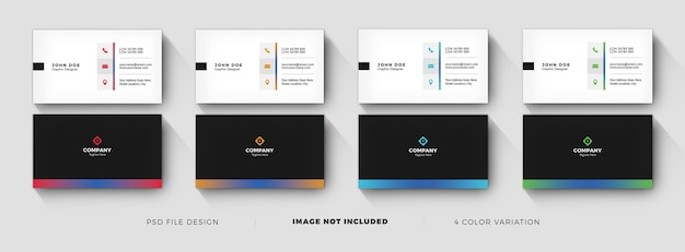 Creative business card templates design