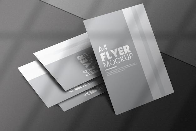 Creative flyer mockup design