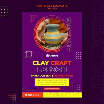 Creative and imaginative poster design template