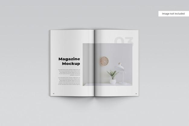 크리에이티브 잡지 모형
