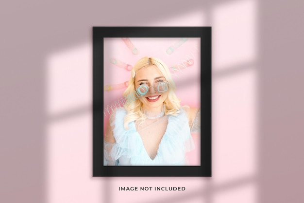Creative and minimalist frame mockup
