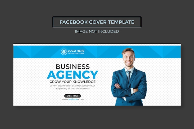 Creative and modern social media cover template