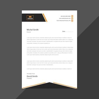 Creative new letterhead