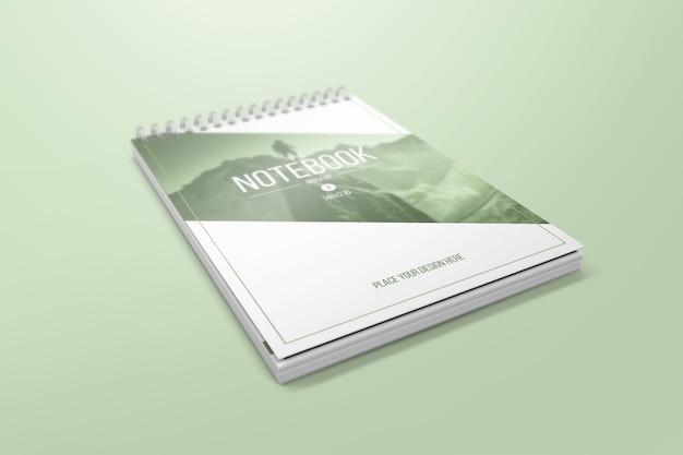 Творческий макет ноутбука