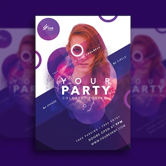 Creative party poster