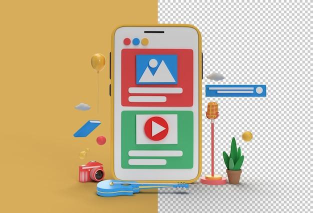 Креативная игра для видео, баннер для веб-разработки, маркетинговые материалы