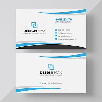 Creative & professional business card