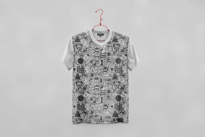 Creative t-shirt mock up