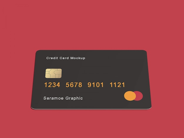 Credit / bank card mock-up