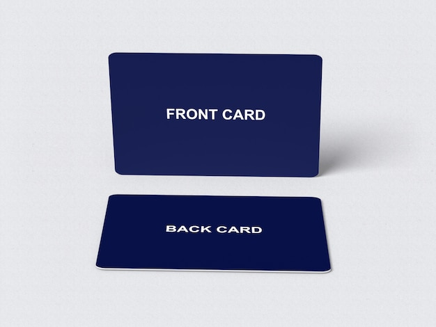 Credit/bank card mockup