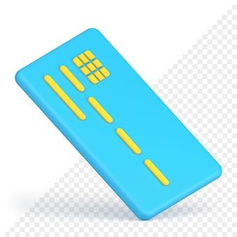 Кредитная карта 3d значок