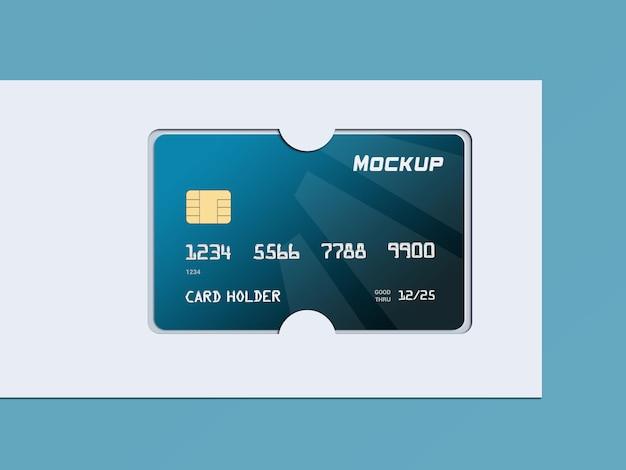 Дизайн макета кредитной карты