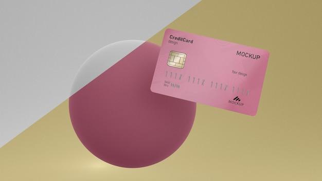 Mockup di carta di credito