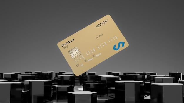 クレジットカードのモックアップ Premium Psd