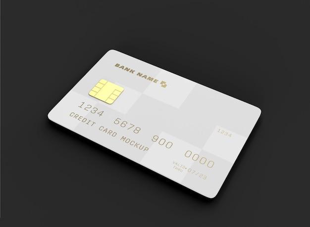 Макет кредитной карты