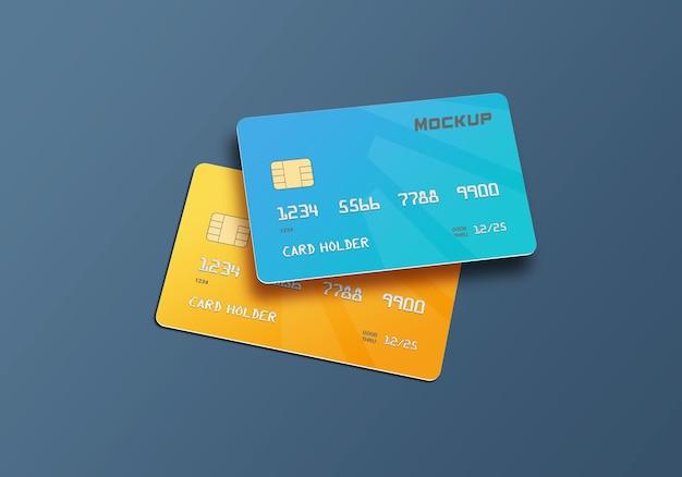 Дизайн макета смарт-карты кредитной карты