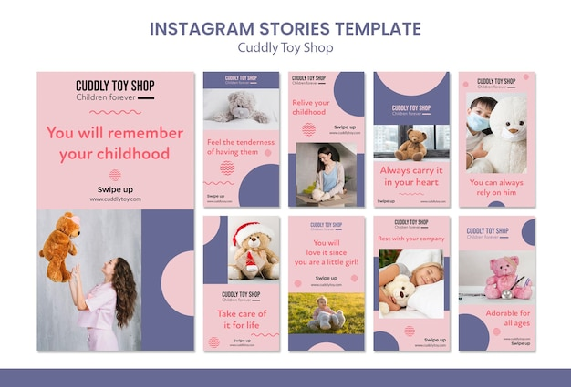 かわいいおもちゃ屋instagram stories