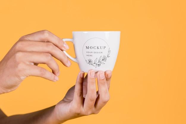 Макет концепции чашки
