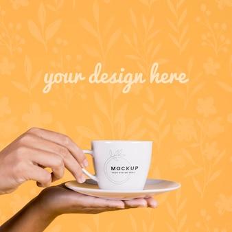 컵 컨셉 모형