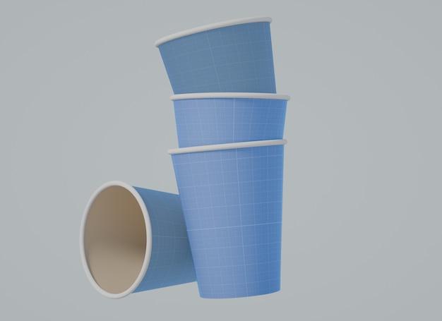 Шаблон макета чашки