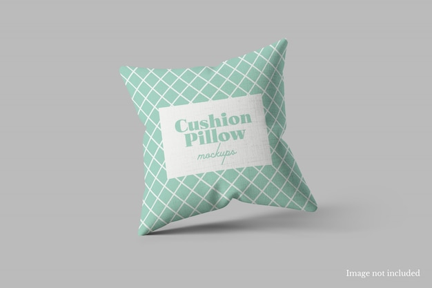 Cushion pillow mockup