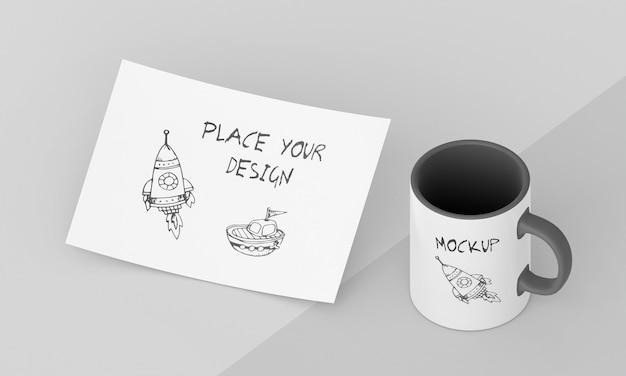 Custom mug mock-up assortment