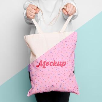 Симпатичный макет сумки