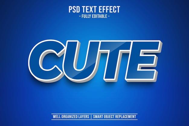 Симпатичный эффект стиля текста
