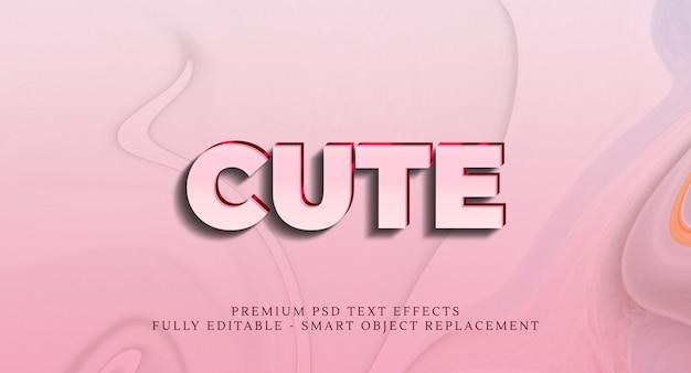 Симпатичный текстовый эффект